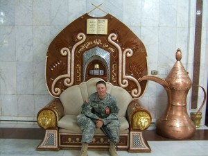 Captain Jeremy Griffith in Baghdad 2007