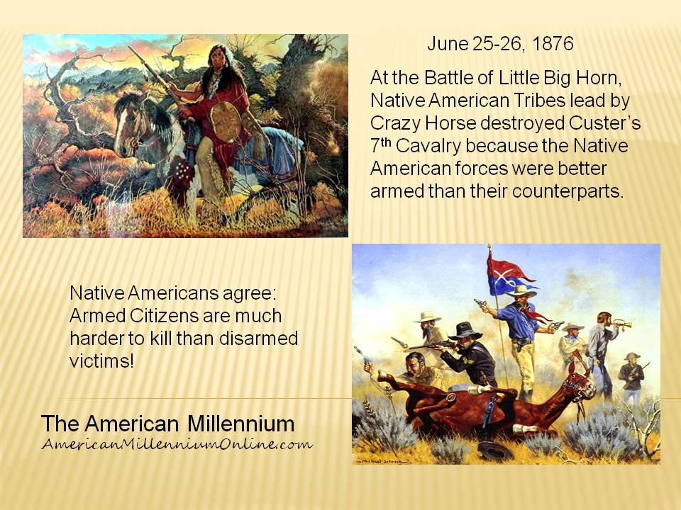 Native Americans Agree - infographic created by The American Millennium