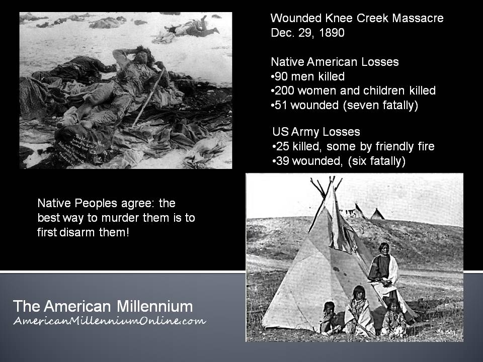 Native Peoples Agree -infographic created by The American Millennium