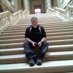American Millennium creator Jeremy Griffith on the steps inside the Minnesota capitol in St. Paul. Griffith is a veteran of the Iraq war and part-time blogger. All opinions presented here are his own.