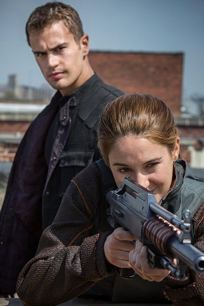 Screen capture of the movie Divergent, in theaters now.