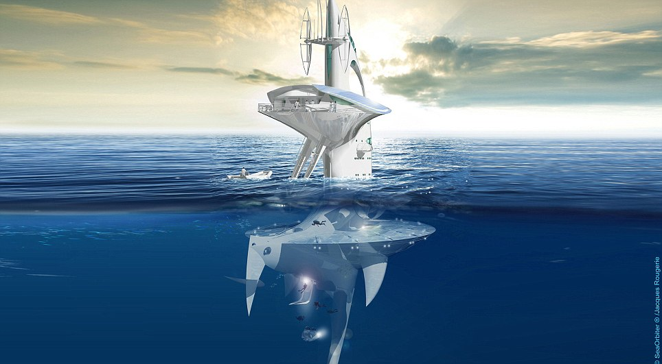 The Sea Orbiter as conceived in its final form.