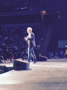 Glenn Beck speaks in Birmingham, Alabama.