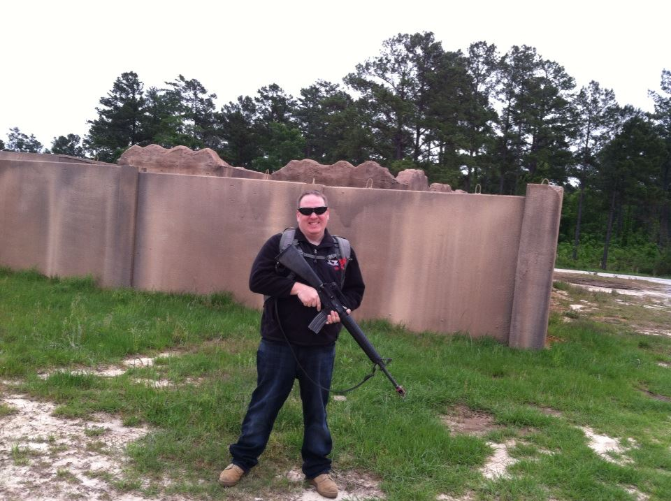 The Author trains at First Army Trainer-Mentor Academy at Camp Shelby, MS.