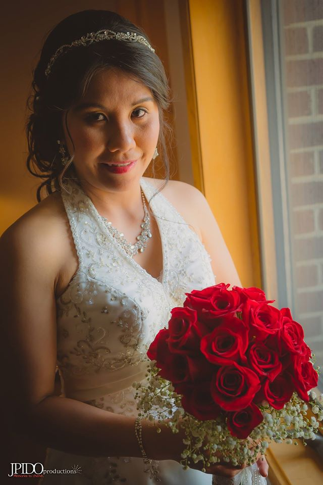 The Bride, Roselle. -photo by Jude Pido